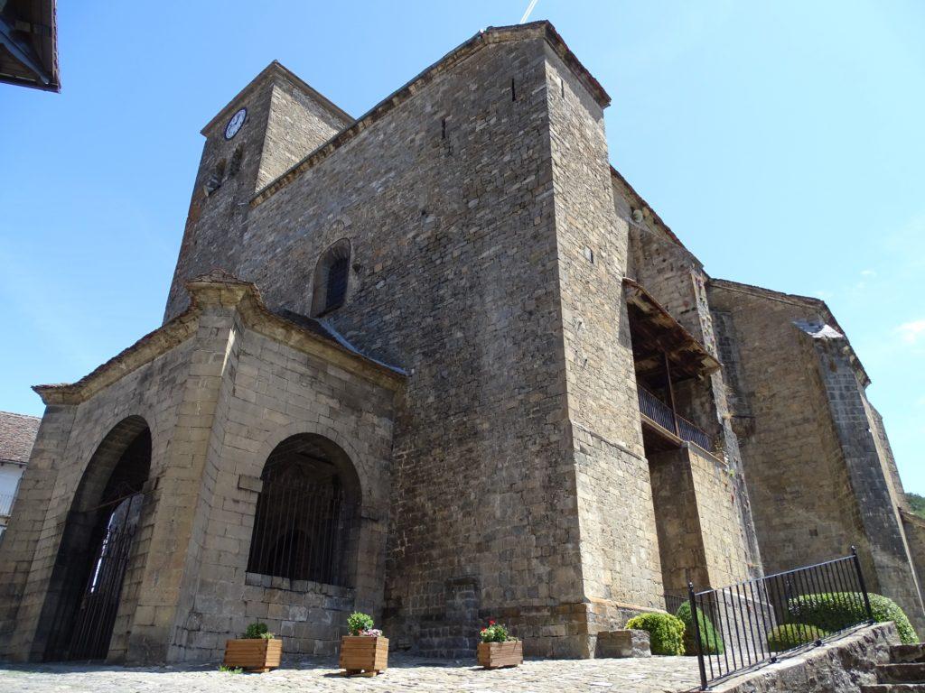 Iglesia parroquial de Ansó